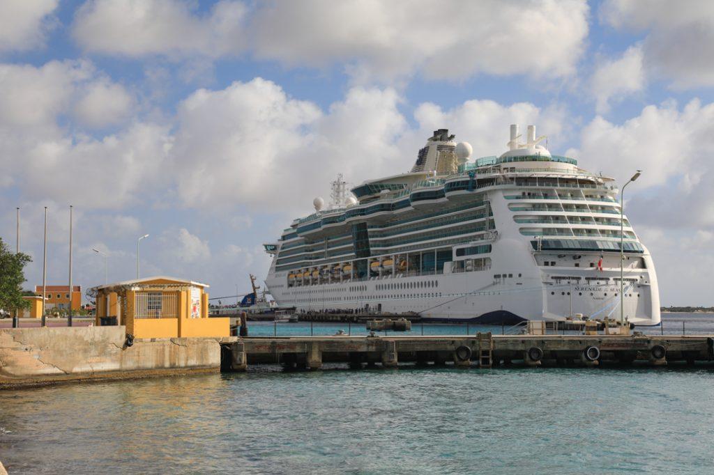 De cruiseschepen vermijden?