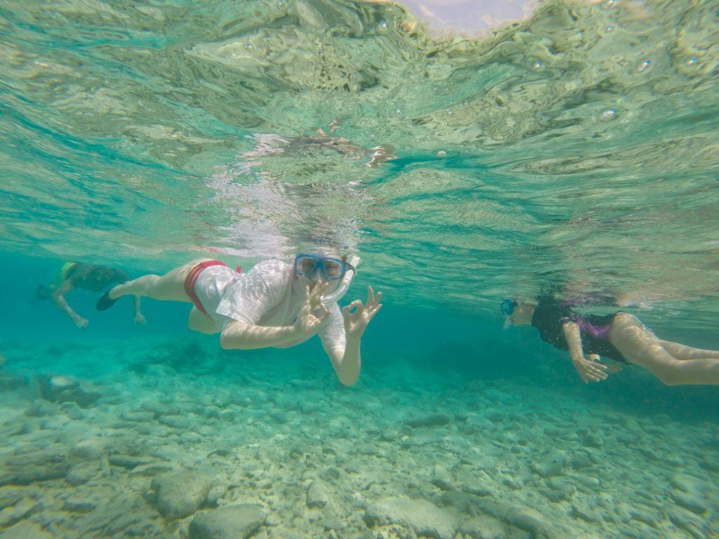 snorkelen met kinderen