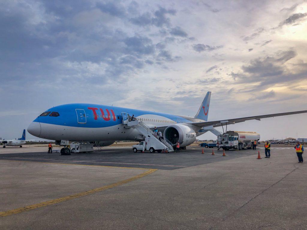 TUIfly op Bonaire