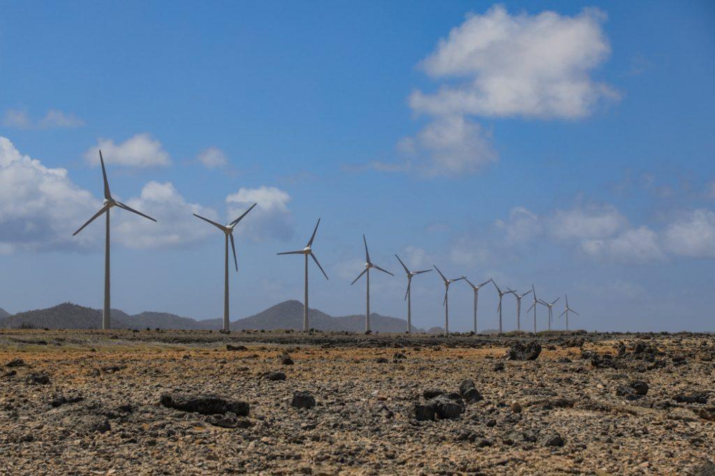 wind op Bonaire